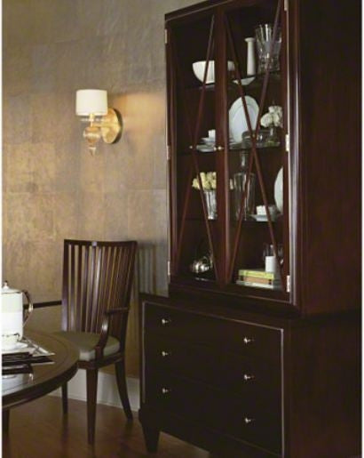 Glass Front Cabinet  Baker Furniture