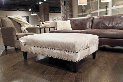 Rancho Ottoman - Bernhardt Furniture