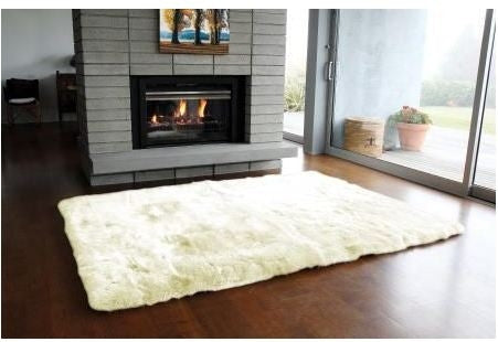 Long Wool Linen Rug - Auskin