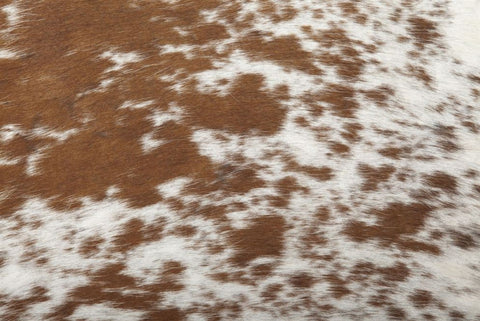 Brown/ White Salt & Pepper Hide Rug - Saddleman's of Santa Fe