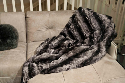 Rex Chinchilla Throw - Adrienne Landau