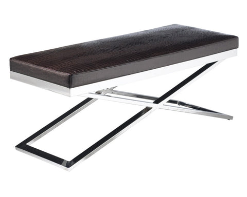 Crawford X-base Bench - Sunpan Modern Home