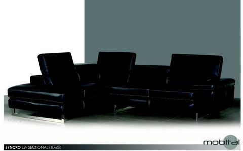 Syncro RSF Chaise Sectional - Mobital