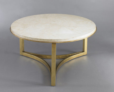Niko Travertine Coffee Table - Precedent Furniture