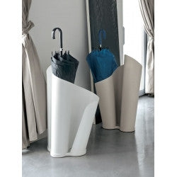 Matt Beige Narciso Umbrella Holder- Tonin Casa