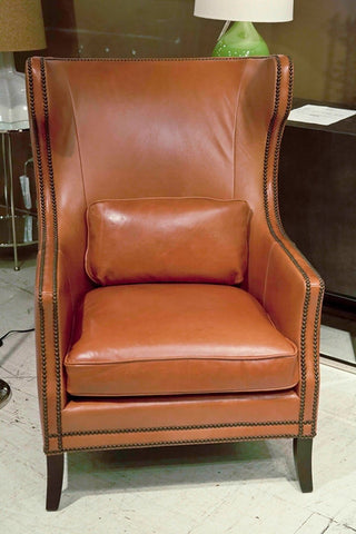 Kingston Leather Chair - Bernhardt