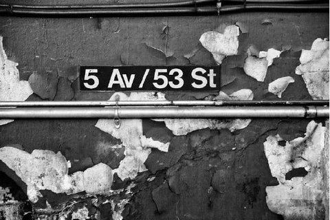 5 Av/53 St, Conduit Framed - New York, NY
