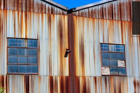 Industrial Building No. 1 Aluminum - Sylvie and Michael Spewak Photography