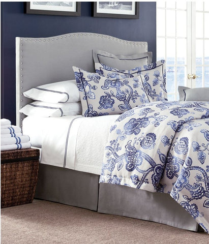 Bailey Cove Indigo Queen Duvet Set - Legacy Linens