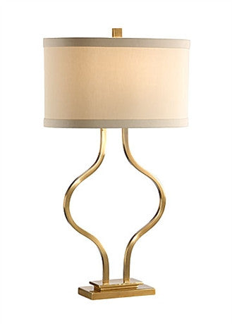Brass Bow Lamp - Wildwood Lamps & Accents