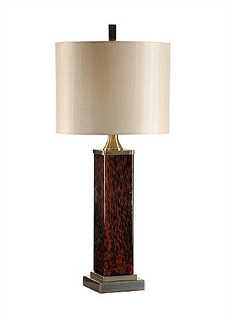 Tortoise Column Lamp - Wildwood Lamps & Accents