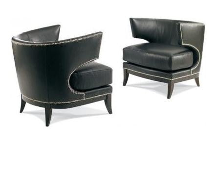 Wesley Leather Chair - Precedent Furniture