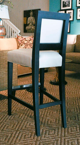 Brewster Leather Bar Stools - Mitchell Gold and Bob Williams