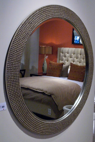 Lancelot Mirror - Silver Leaf - Howard Elliott