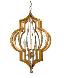 Pattern Makers Gold Large Chandelier - Regina-Andrew Design