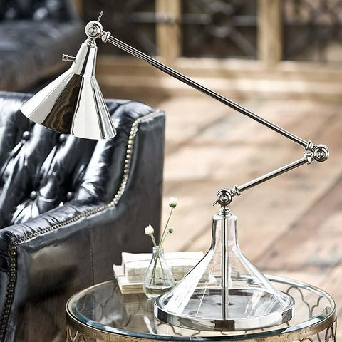 Glass Funnel Beaker Lamp - Regina-Andrew Design