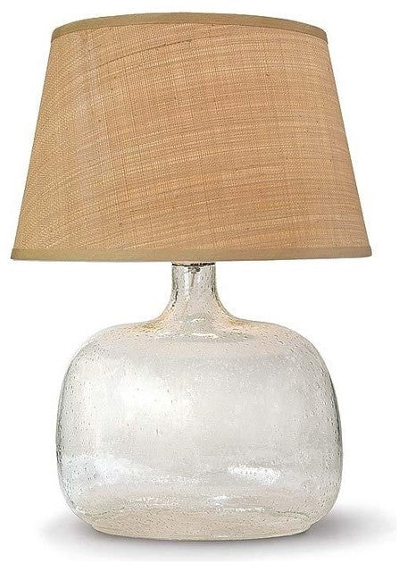 Seeded Oval Glass Lamp Regina Andrew Design Luxe Home