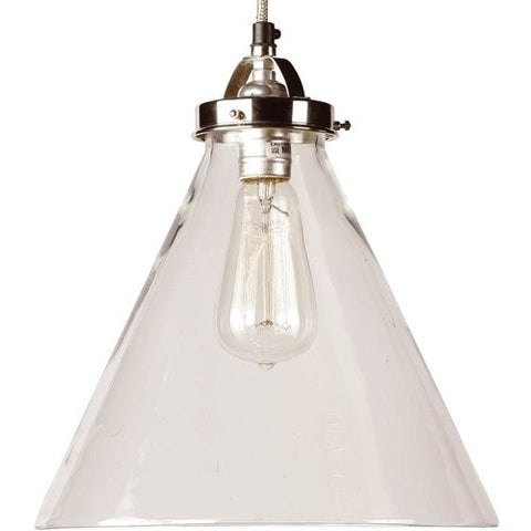 Carlton Polished Nickel Pendant - Arteriors Home