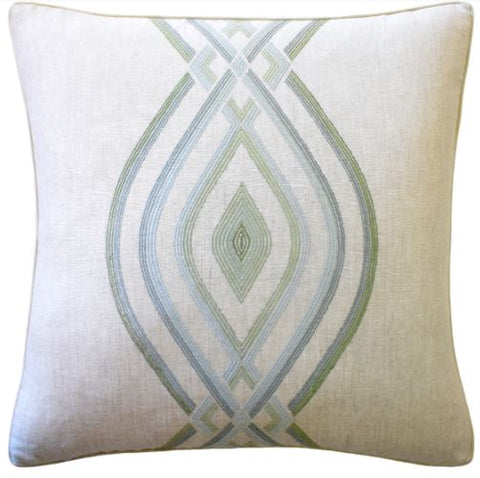 Ora Embroidery Pillow - Ryan Studio