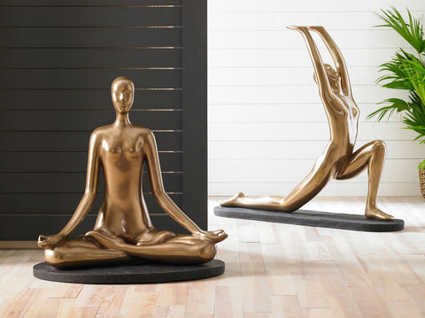 Yoga Figure Meditating - Phillips Collection