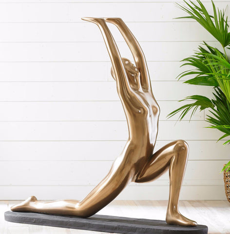 Yoga Figure Kneeling - Phillips Collection