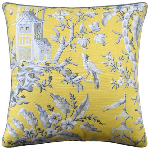 Pagoda Garden Pillow - Ryan Studio