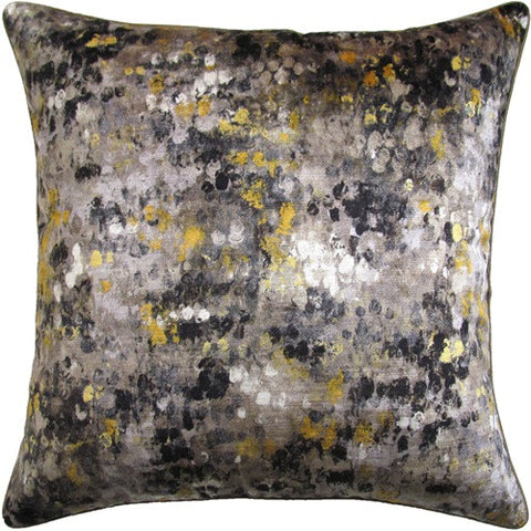 Painted Velvet Pillow 22x22 - Ryan Studio