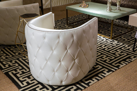 Palazzo Swivel Chair- Leather - Bernhardt