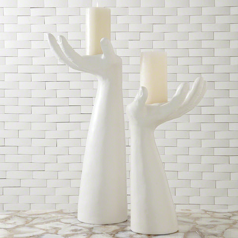 Palma Candleholder, Right - Studio A