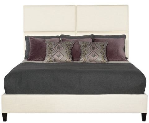Palmer King Upholstered Sleigh Bed - Bernhardt Interiors