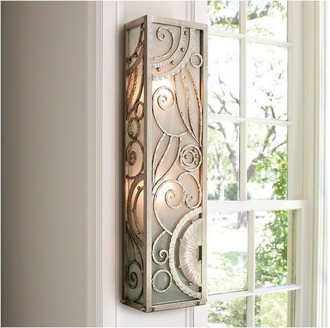 Paris Wall Sconce - Nickel - Global Views