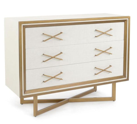 Pascal Three-Drawer Chest - John-Richard