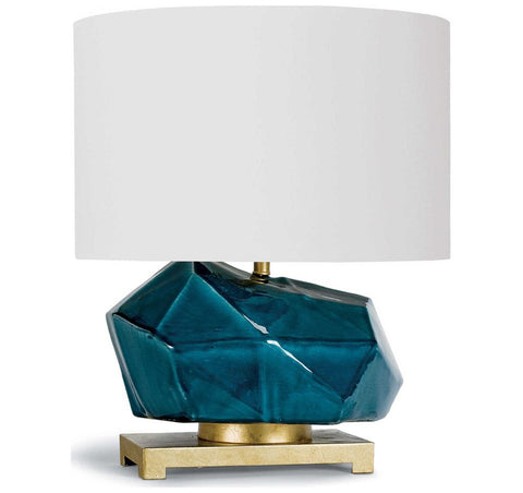 Peacock Ceramic Table Lamp - Regina Andrew Design