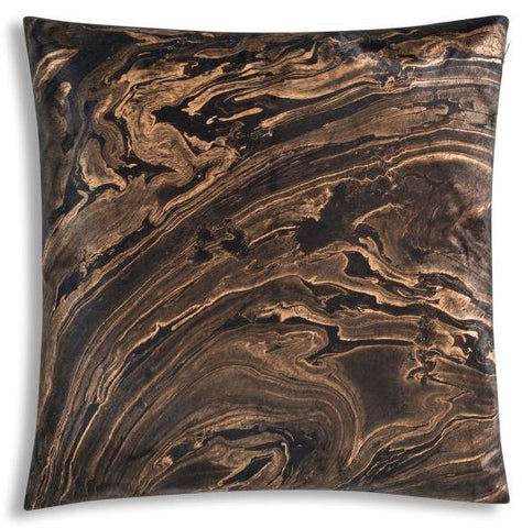 Ebony Hair-on-Hide Pillow - Cloud 9