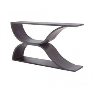 Pin Hollow Wave Sofa Table - Dimond Home