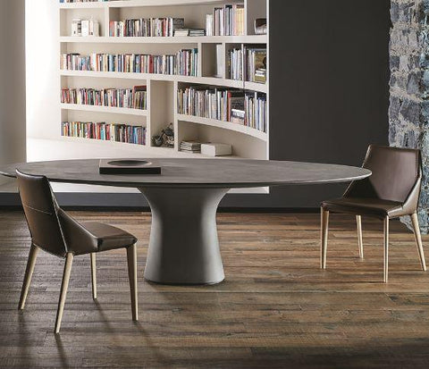 Podium Concrete Table - Bontempi