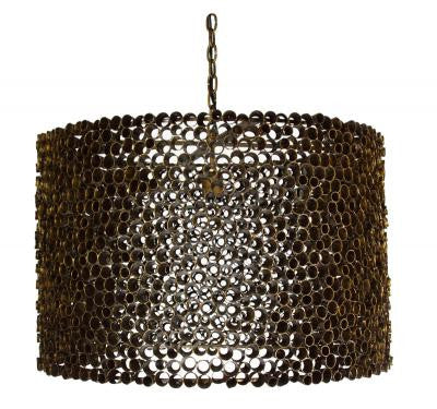 Port Merion Chandelier, Small - Mr. Brown