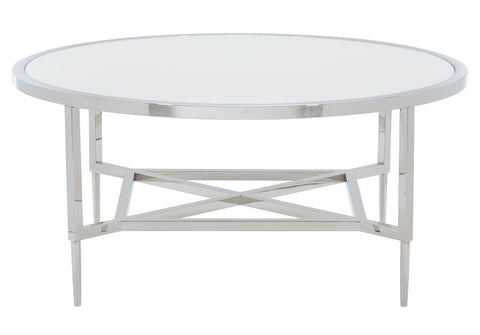 Portola Metal Round Cocktail Table - Bernhardt Furniture