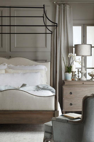 Auberge King Poster Canopy Bed - Bernhardt Furniture