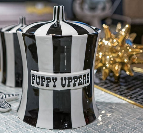 Puppy Uppers Canister - Jonathan Adler