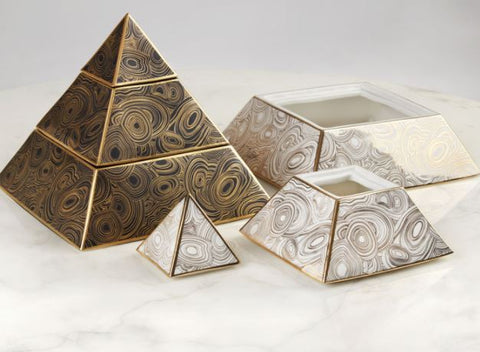 Pyramid Stacking Box - Jonathan Adler