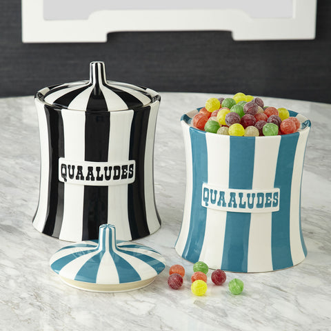 Quaaludes Canister - Jonathan Adler