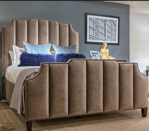 Bayonne Upholstered Bed - Bernhardt Interiors