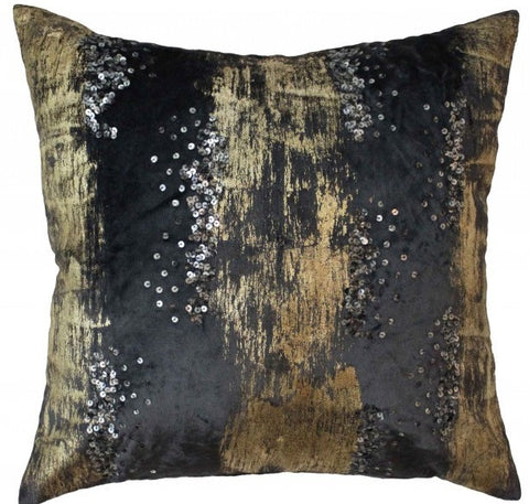 Raina Charcoal Pillow - Cloud 9