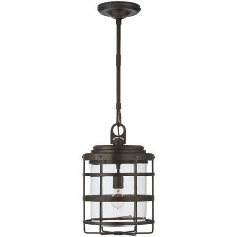 Crosby Extra Large Pendant Aged Iron - Ralph Lauren