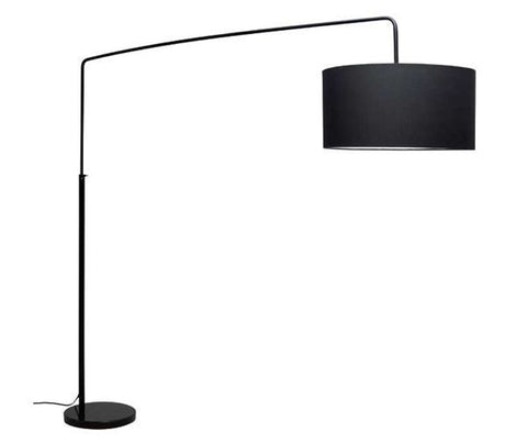 Raku Black Floor Lamp - Nuevo Living