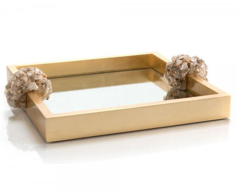 Golden Reflections Tray - John-Richard