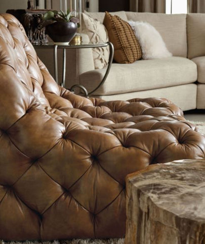 Rigby Leather Chair - Bernhardt Furniture