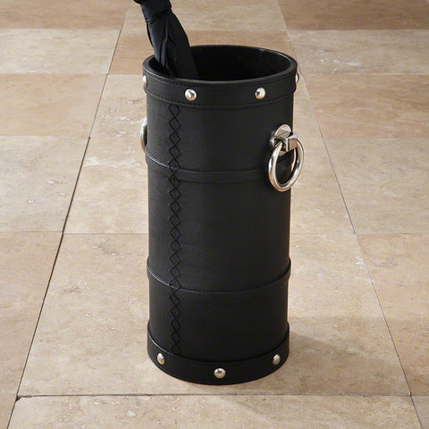 Ring Umbrella Stand Black - Global Views