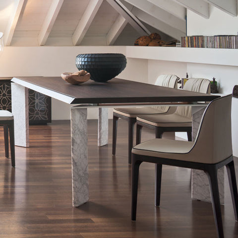 Roma Extendable Table - Tonin Casa